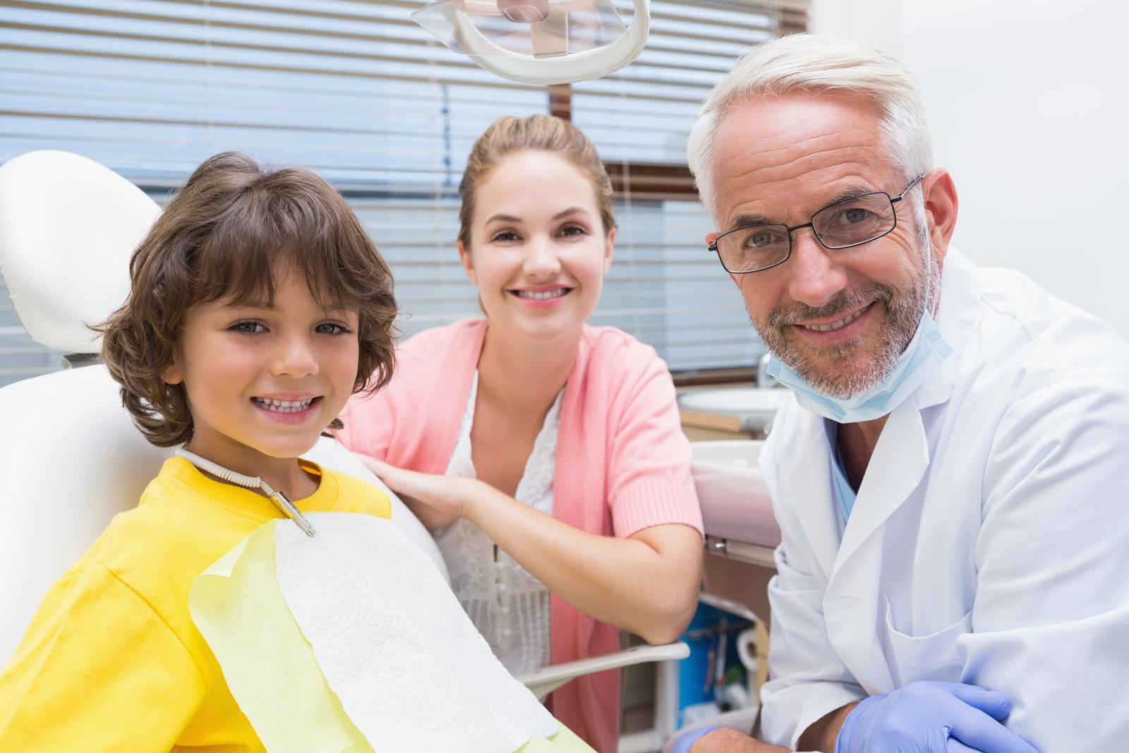 Barn første gang hos tannlegen